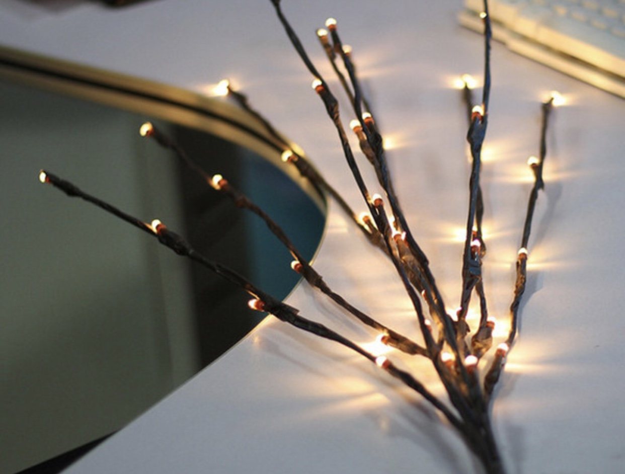 30 Led Lighted Tree Branches Warm White