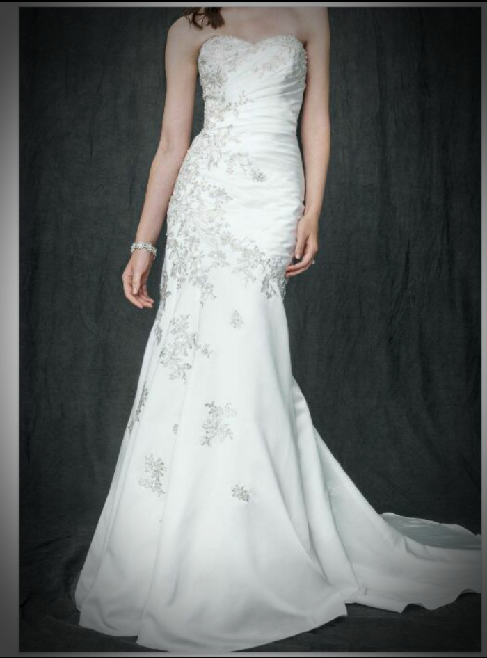 David's Bridal - David's Bridal Fit And Flare