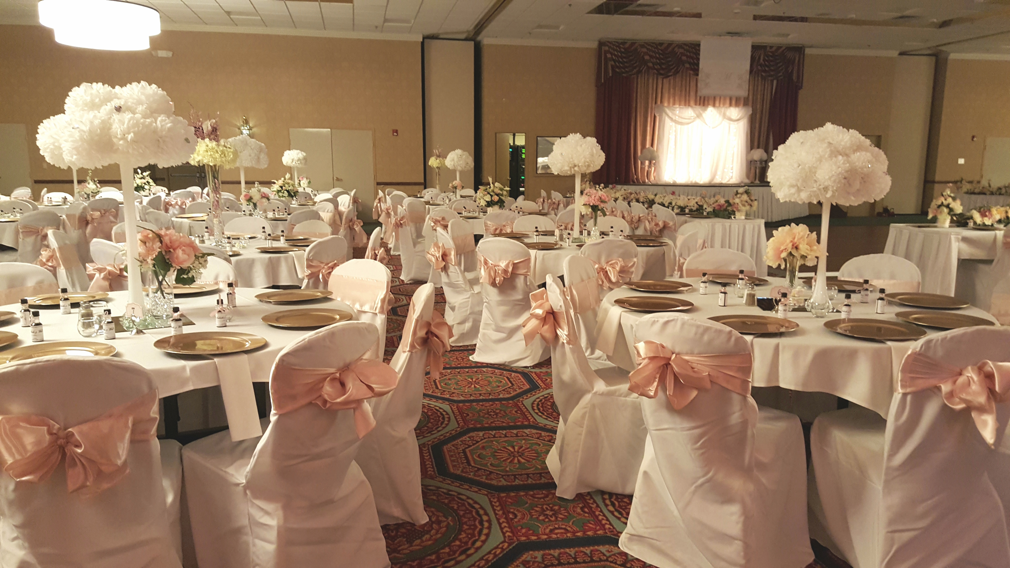 Blush Pink Chair Sash