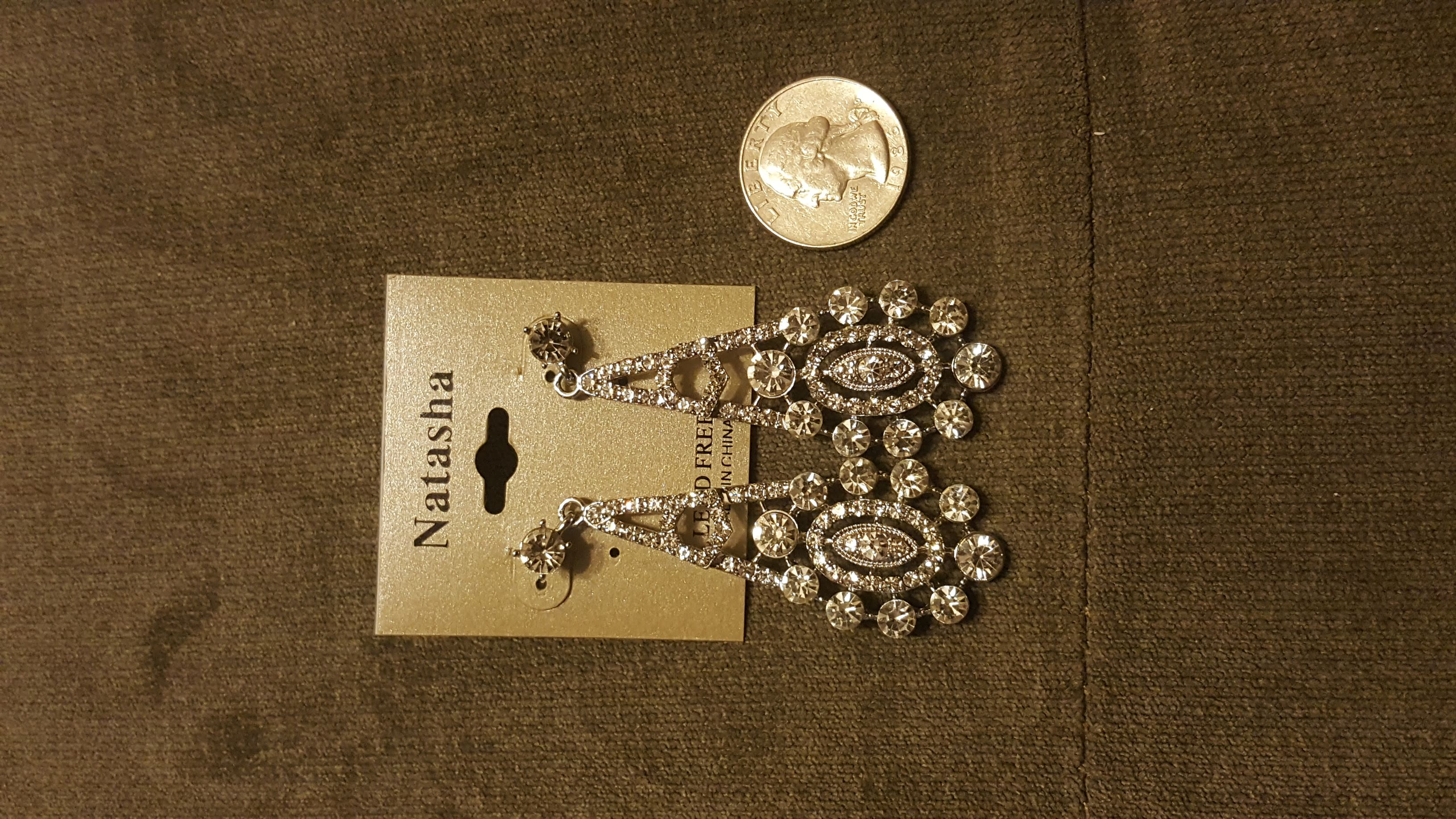Natasha Rhinestone Earrings