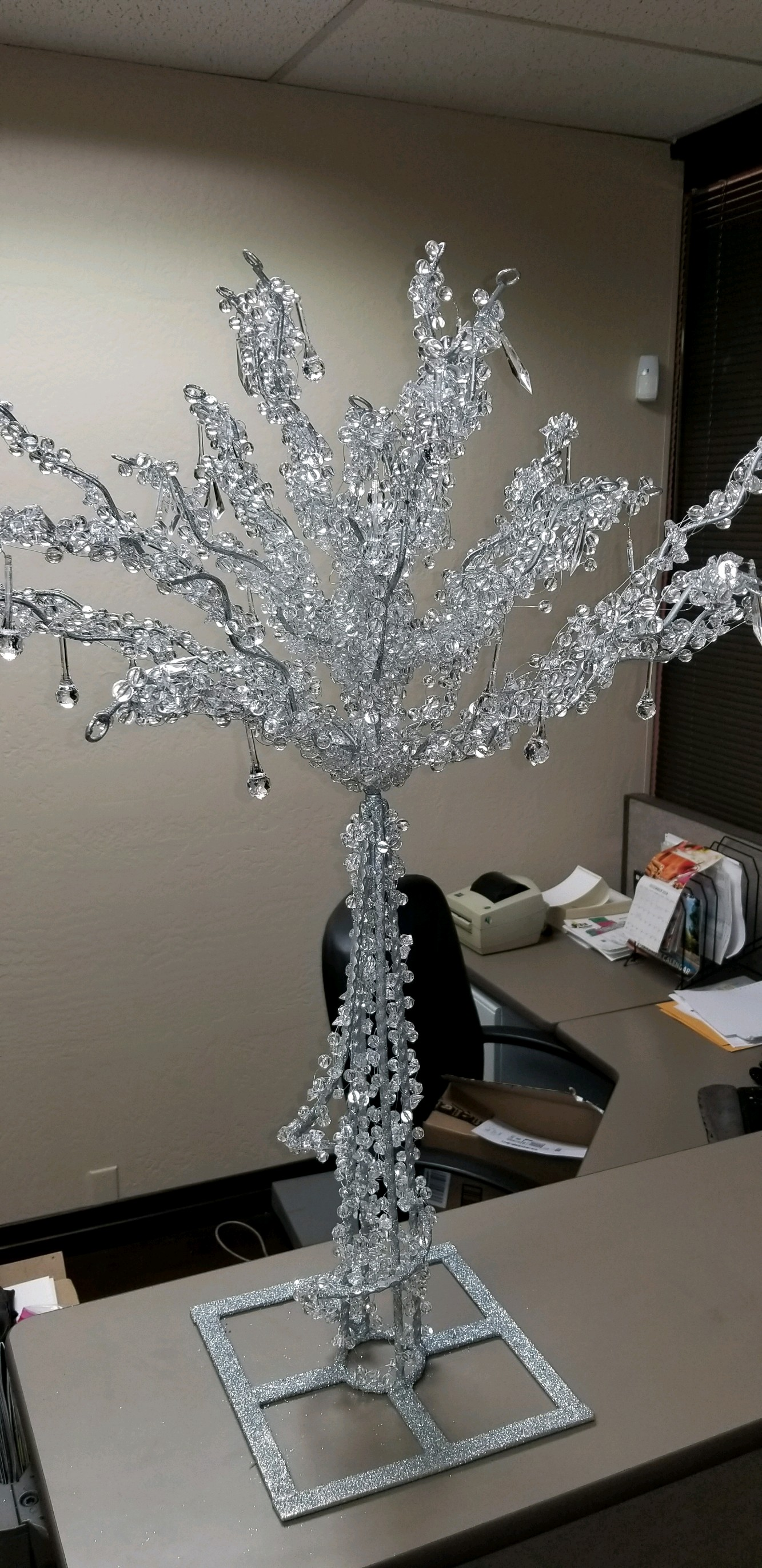Acrylic Crystal Centerpiece Trees