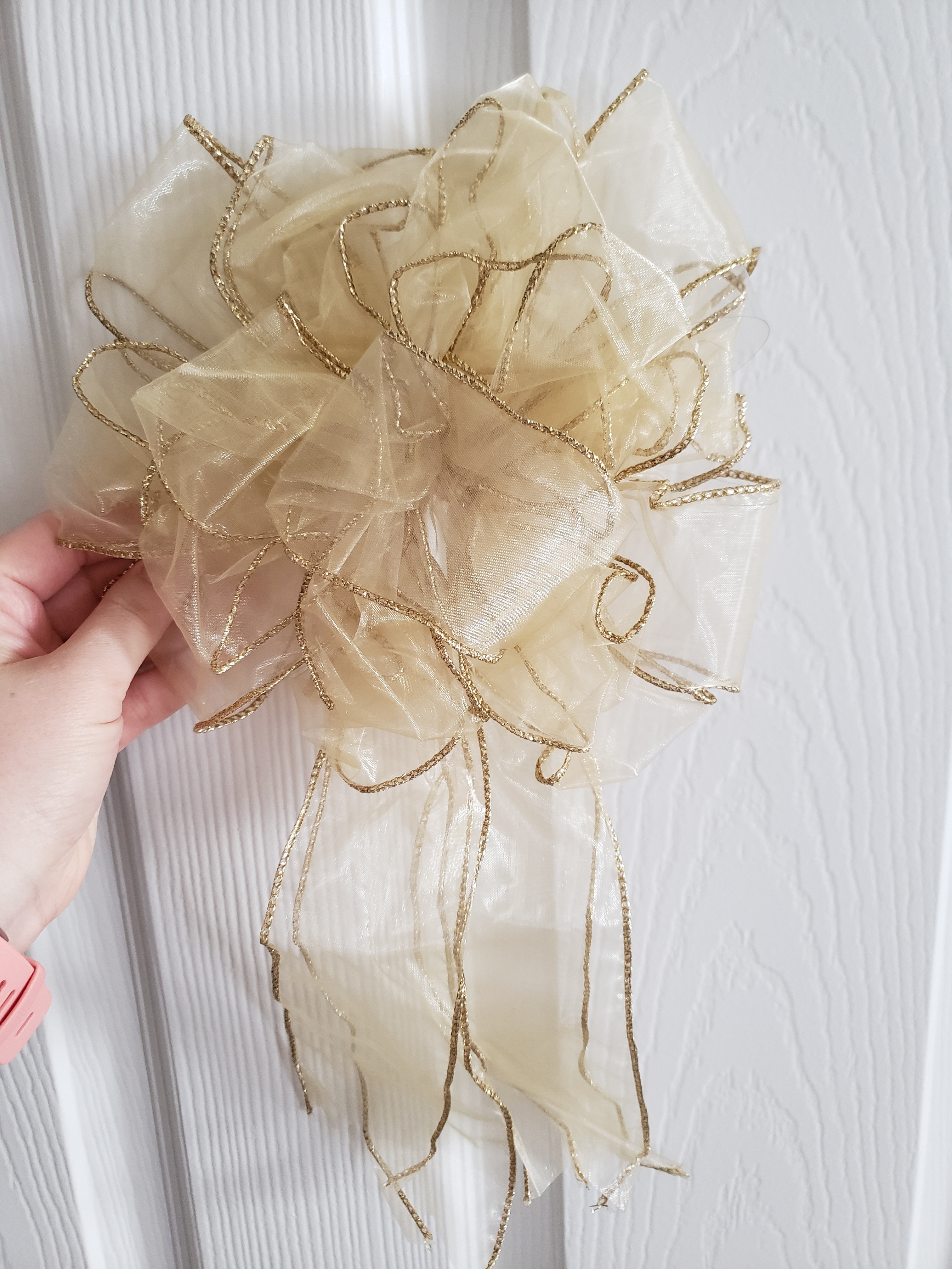 Gold Wedding Bows