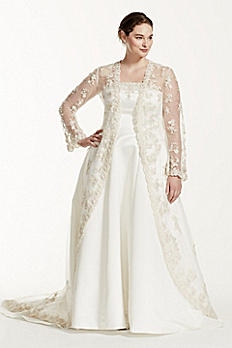David's Bridal - I Wanted To Know If I Can Pawn This Wedding Dress My Wedding Ring And A Couple Laptops That I Have. Please Let Me Know. The Wedding Dress Is  Plus Size Wedding Dress With Beaded Lace Jacket