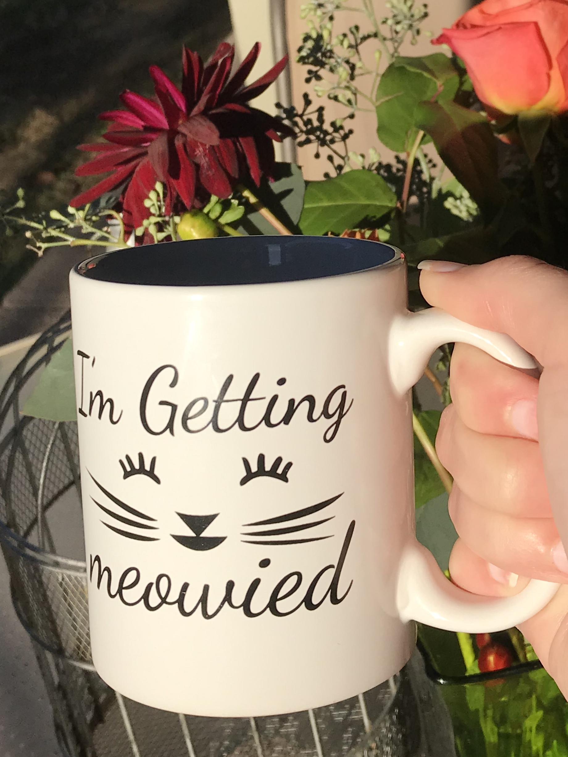 """getting Meowied"" Mug"