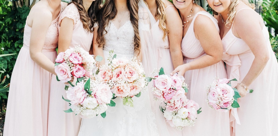 Wedding Bouquets (bride+ 5 Bridesmaid)