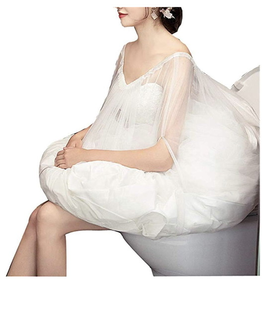 Wedding Dress Toilet Petticoat