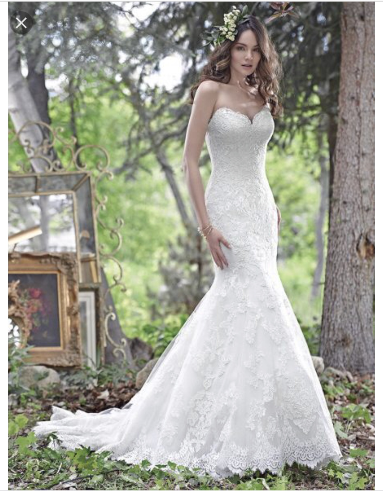 Fit & Flare Maggie Sottero Wedding Dress