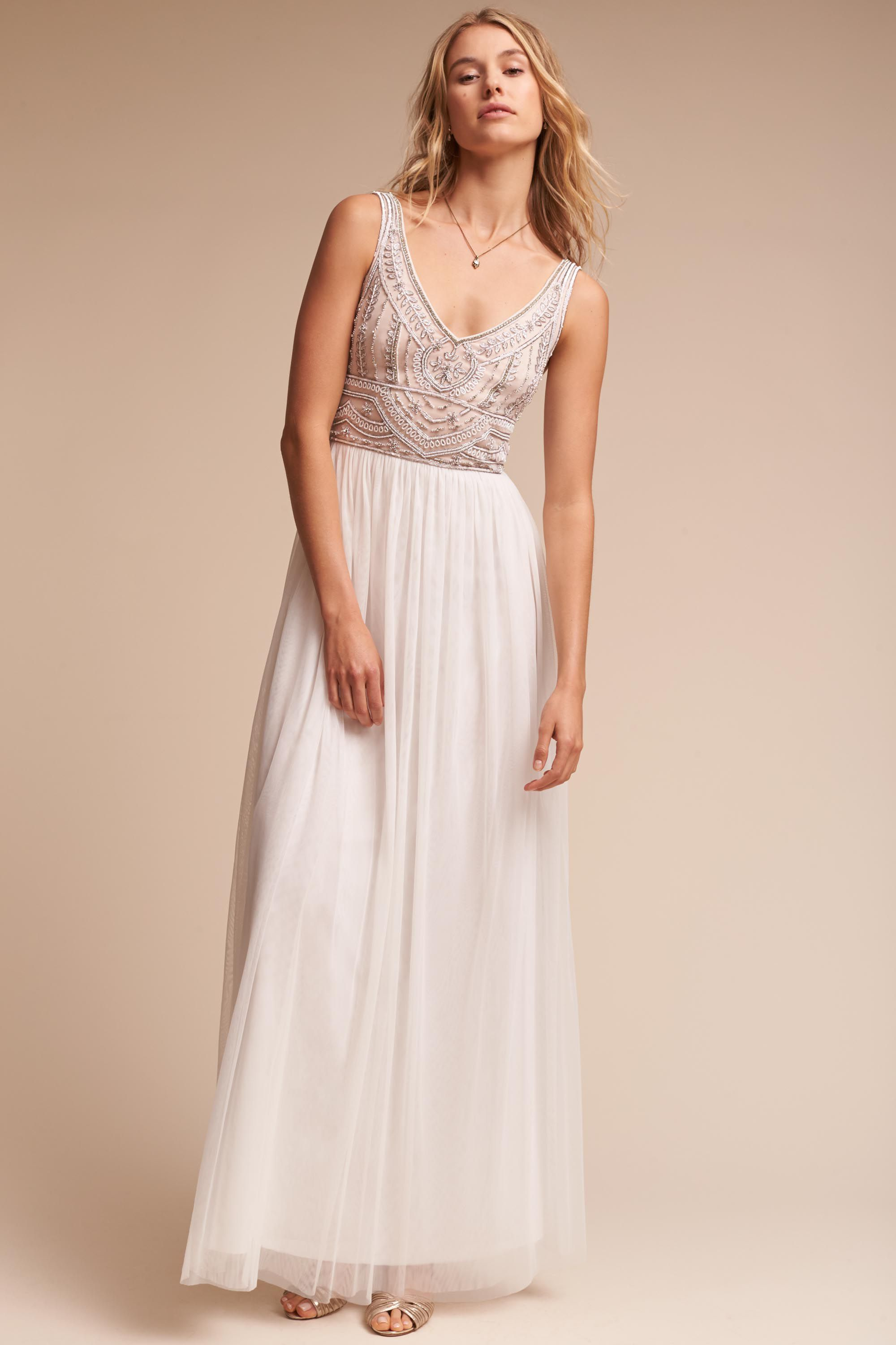 BHLDN - Bhldn - Sterling Dress (ivory)