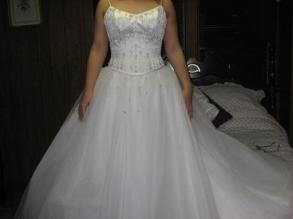 Maggie Sottero Beautiful 2 Piece Wedding Gown Size 8 Bridal