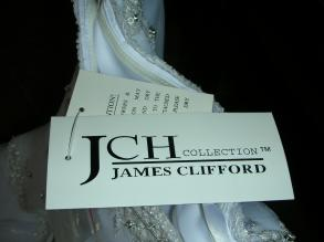 Brand New James Clifford Wedding Dress Size 12