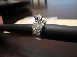 3ct - 18k Gold - Platinum Dipped - Rhodium Plated - Princess Cut