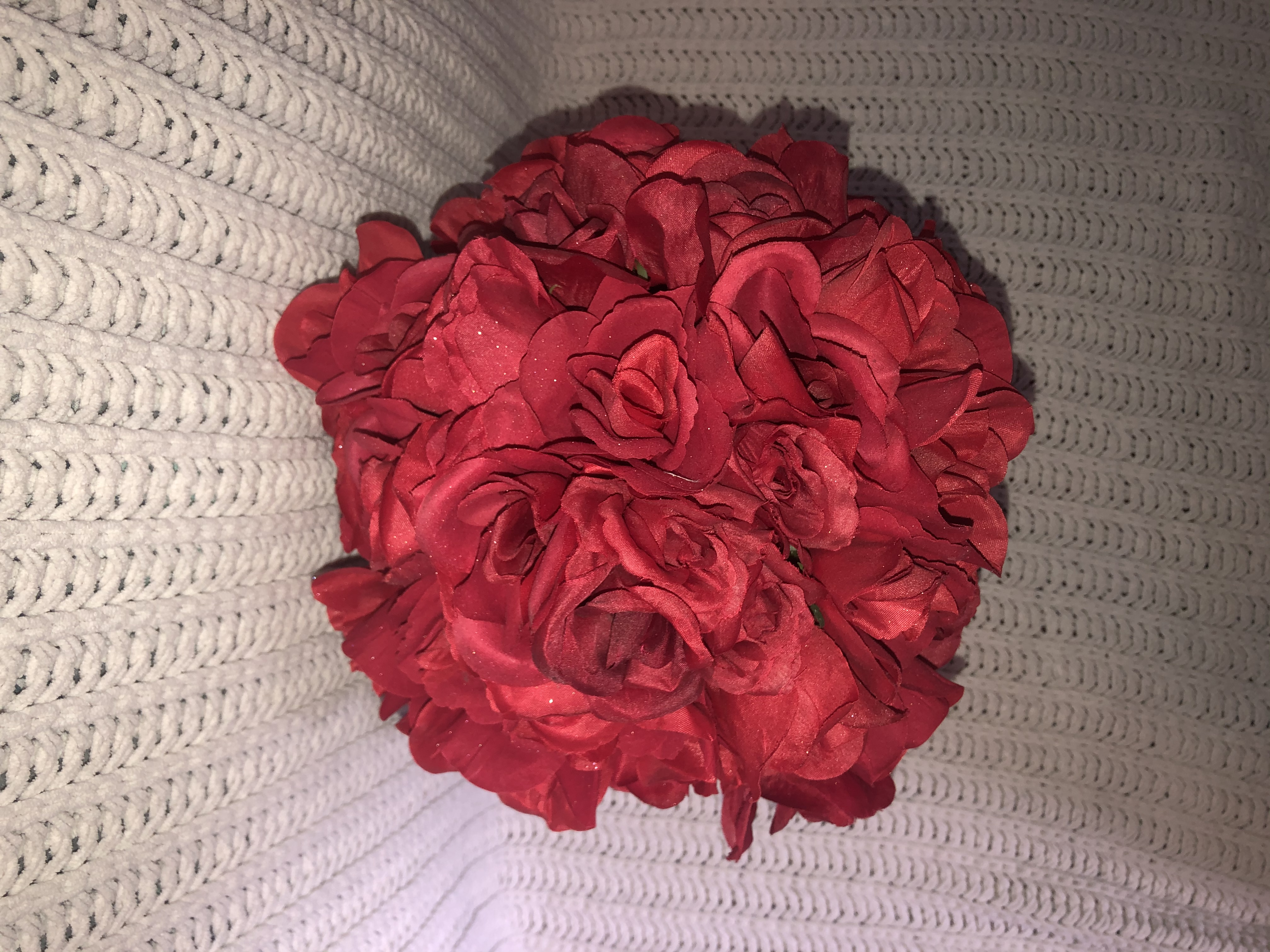 Hand-made Rose Ball Bouquets