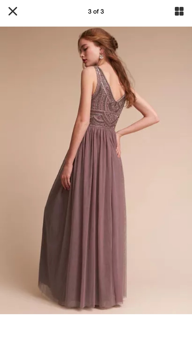 BHLDN - Bhldn Bridesmaid Or Mother Of The Bride Dress Size 6