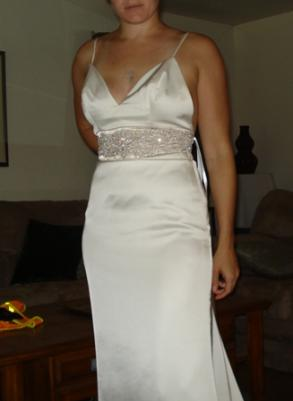 Allure Bridal Gown, Sz: 8