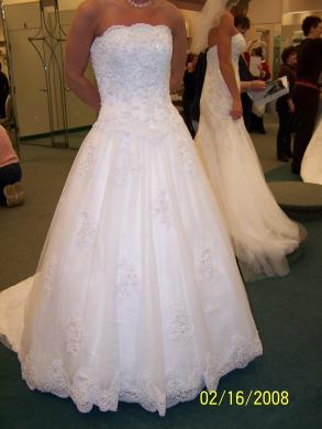 Oleg cassini used oleg cassini wedding gown size 6 bridal oleg cassini used oleg cassini wedding gown junglespirit Images