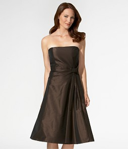 Ann Taylor Tea Length - Bridesmaid Dress