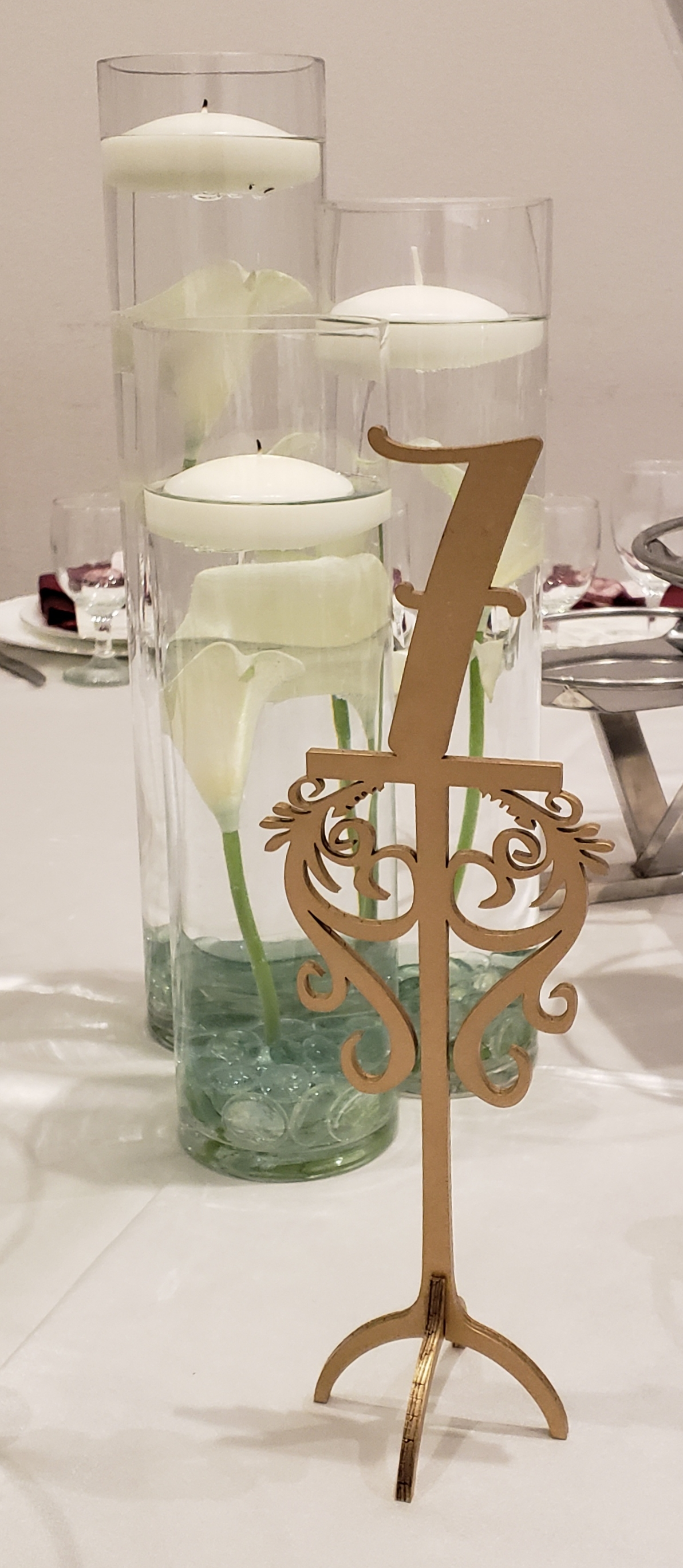 Glass Centerpiece Vases
