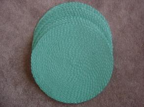 Placemat's Tiffany Blue 17 Inch Round