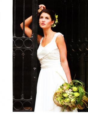 Sarah houston sample sale size 14 destination bridal for Wedding dress sample sale houston