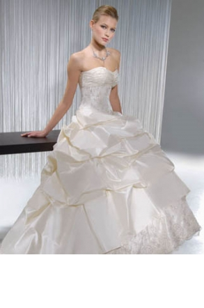 Demetrios Bridal Gown- Illyssa Collection   Size: 4   Bridal Gown ...