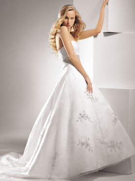 New Henry Roth 2009 Collection Wedding Gown