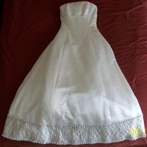 Justina Mcaffrey Wedding Gown
