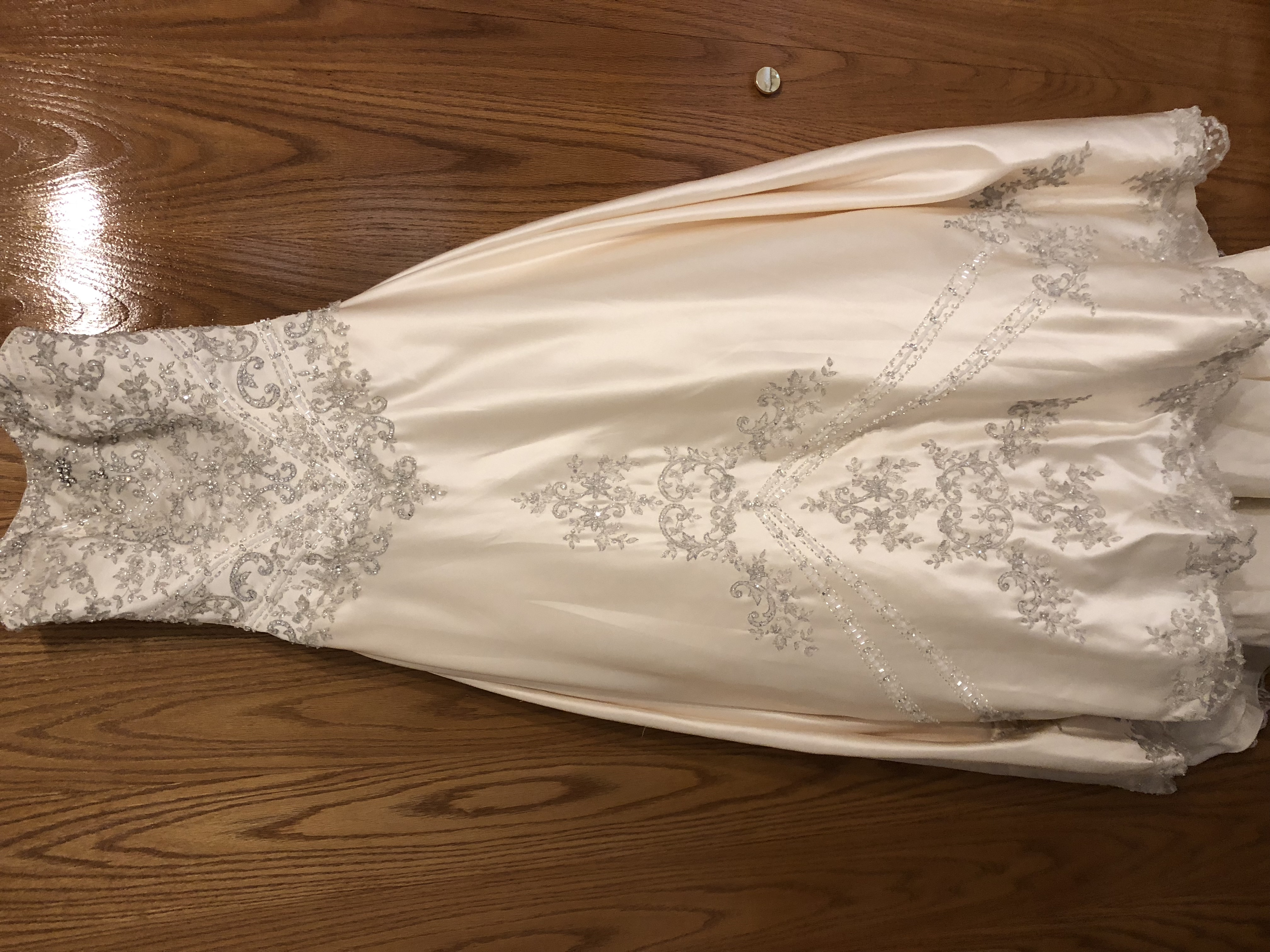 Christina Wu Wedding Gown With Swarovski Crystals