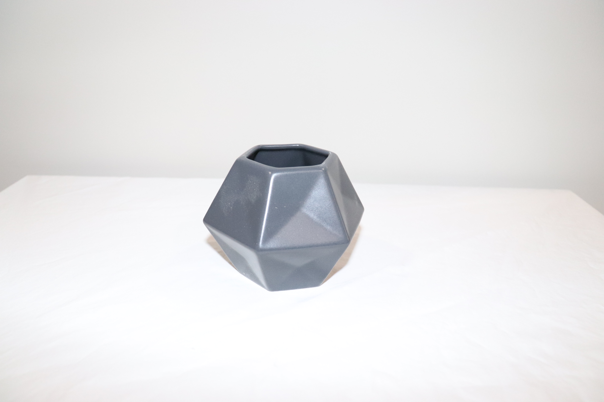 Small Gray Geometric Vases (45)