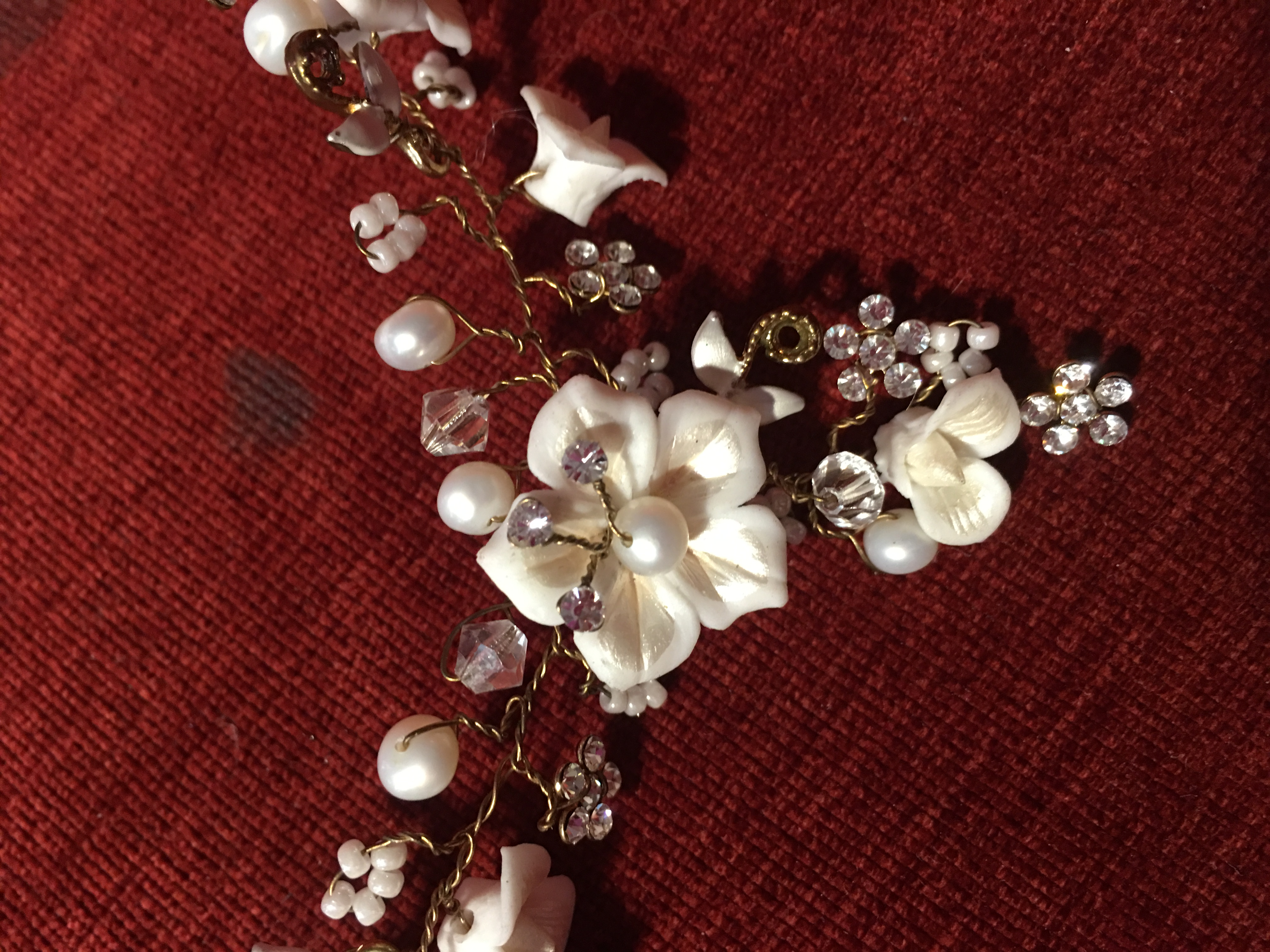 Handcrafted Floral Jewelry
