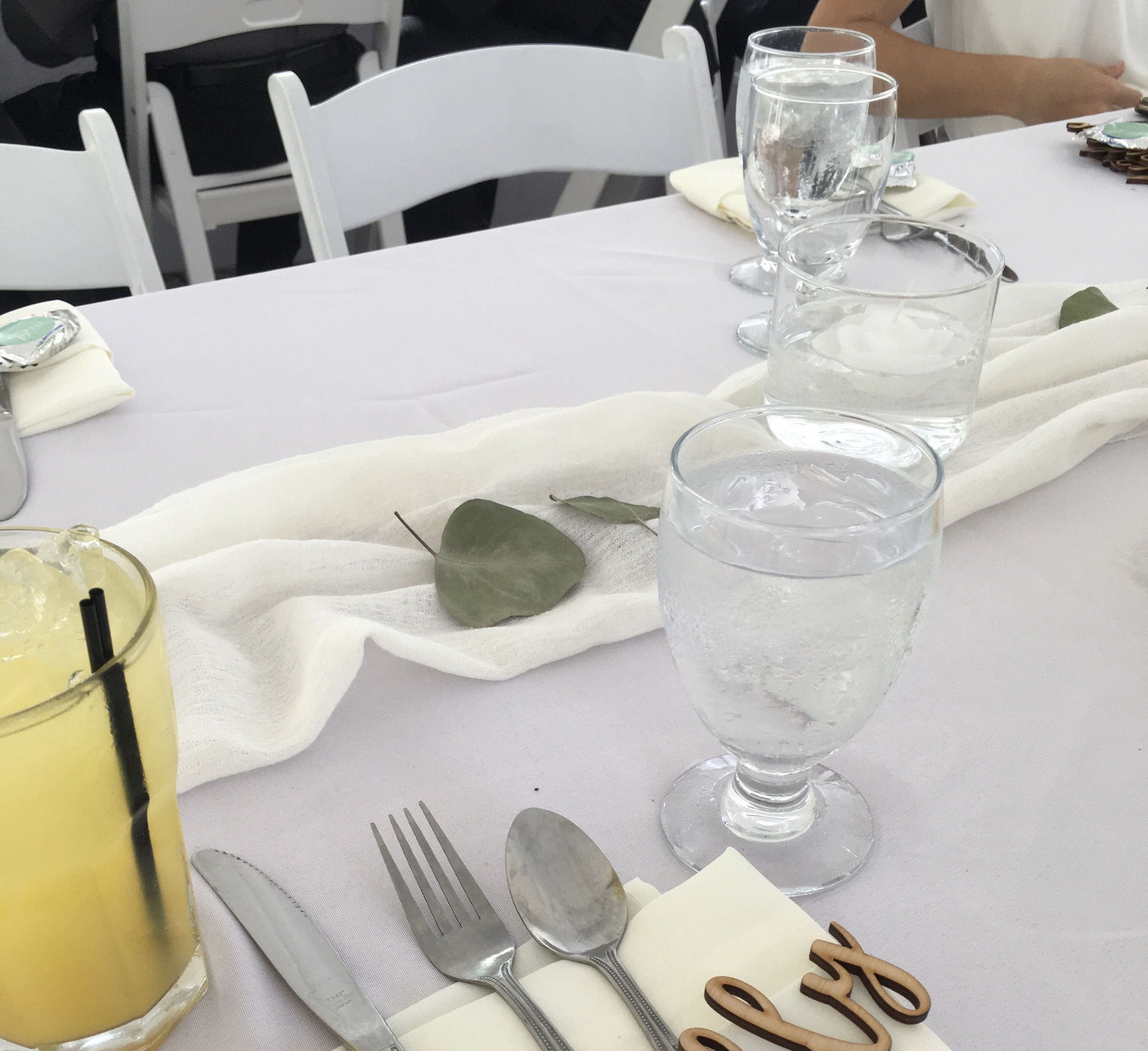 5 Count 90x156 White Tableclothes