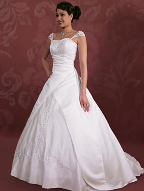 Brand New Custom Made Wedding Gown