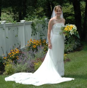 Henry Roth Wedding Gown- Half Price!
