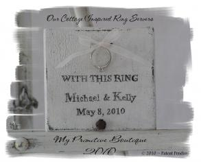 Personalized Ring Bearer Board