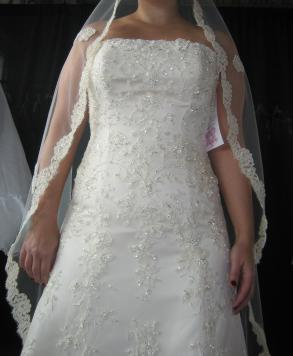 Beautiful Anjolique Gown Sz 12