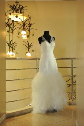 Custom Made Wedding Gown By Larry Espinosa | Bridal Gown | BravoBride