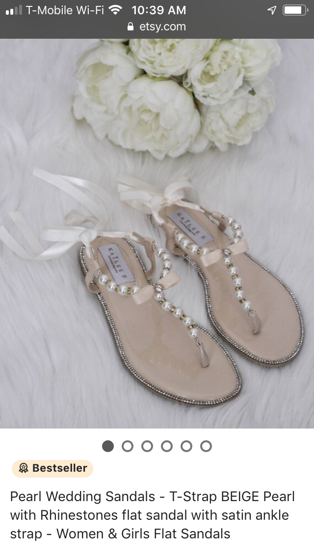 Beautiful Wedding Sandals