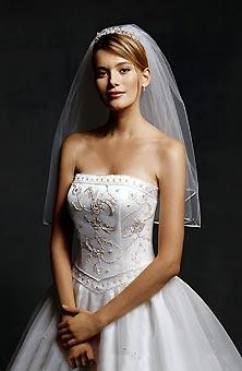Oleg cassini wedding dress size 4 bridal gown bravobride oleg cassini wedding dress junglespirit Images