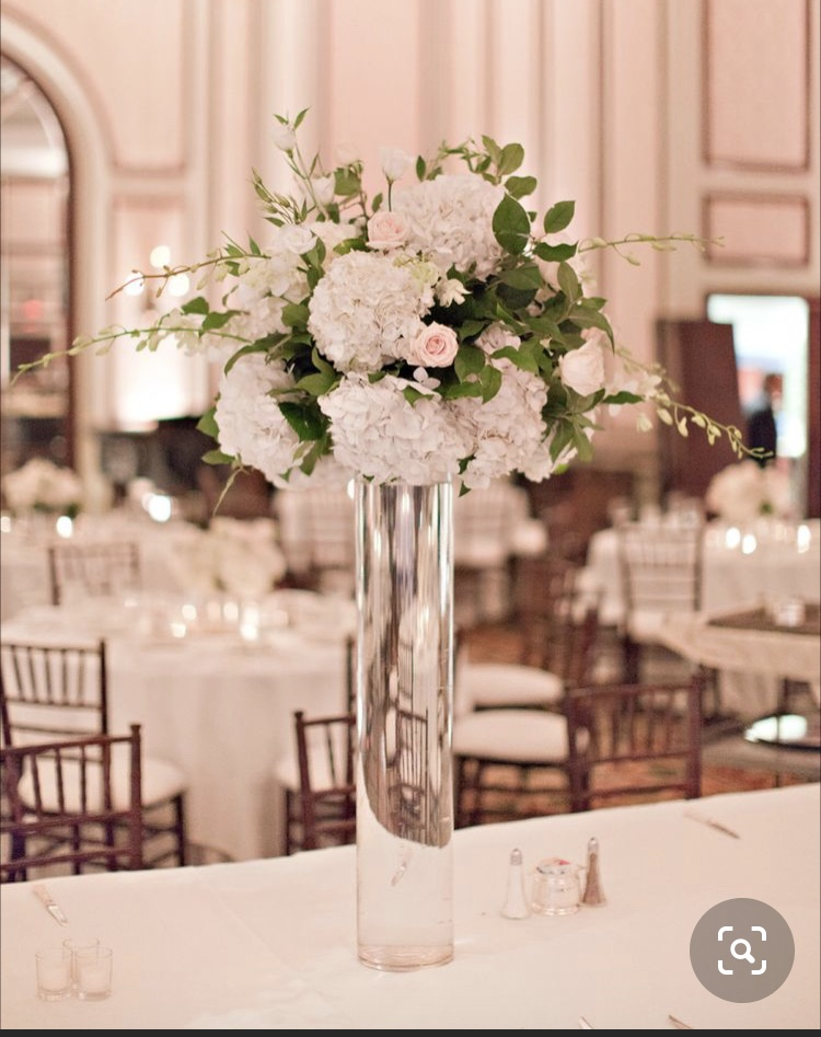 Tall 36 Inch Hydrangea Centerpieces 4 Rent