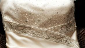 Champagne Anjolique Wedding Gown