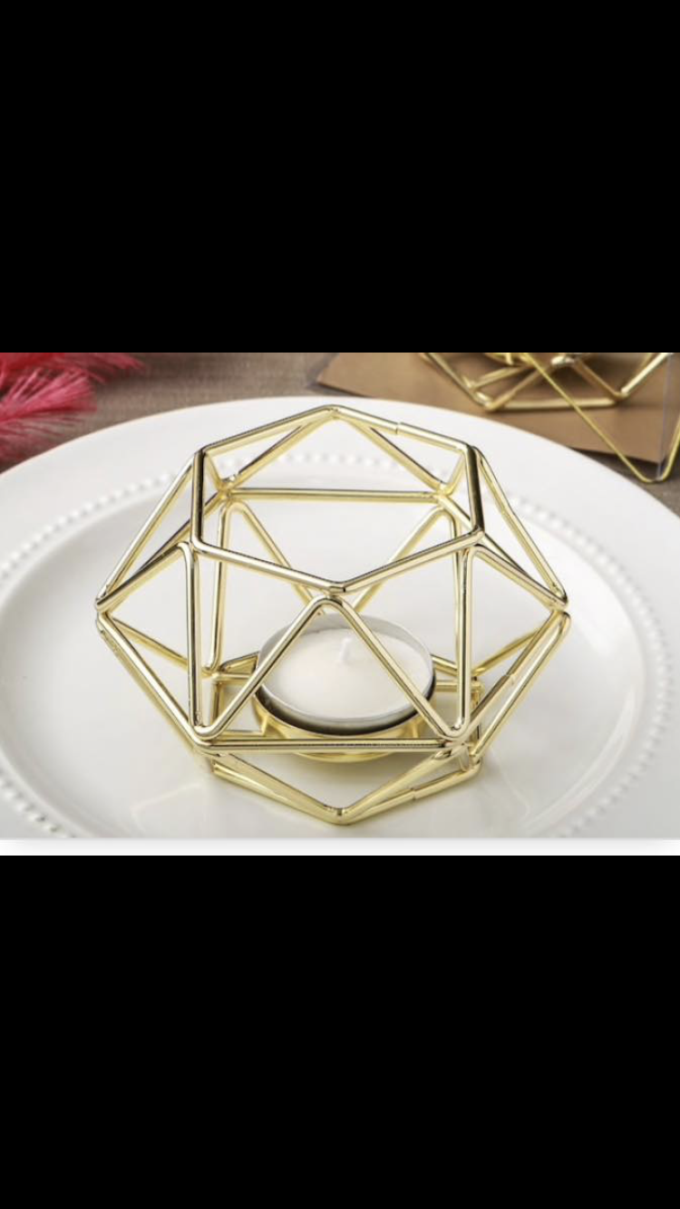 Geometric Tea Light