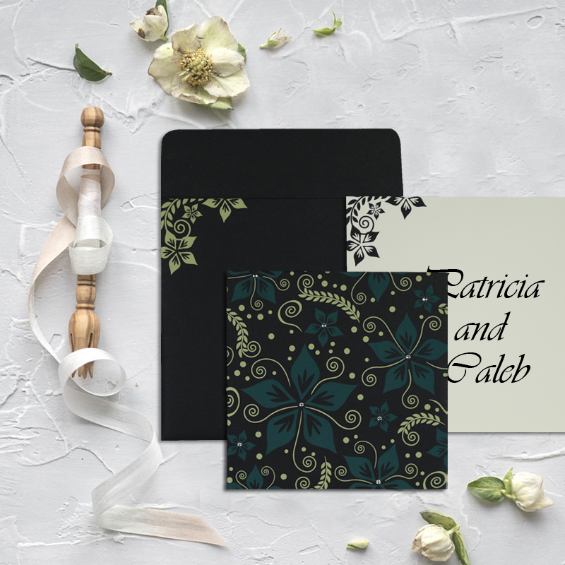 Cheap Indian Designer Wedding Invitations - A2zweddingcards