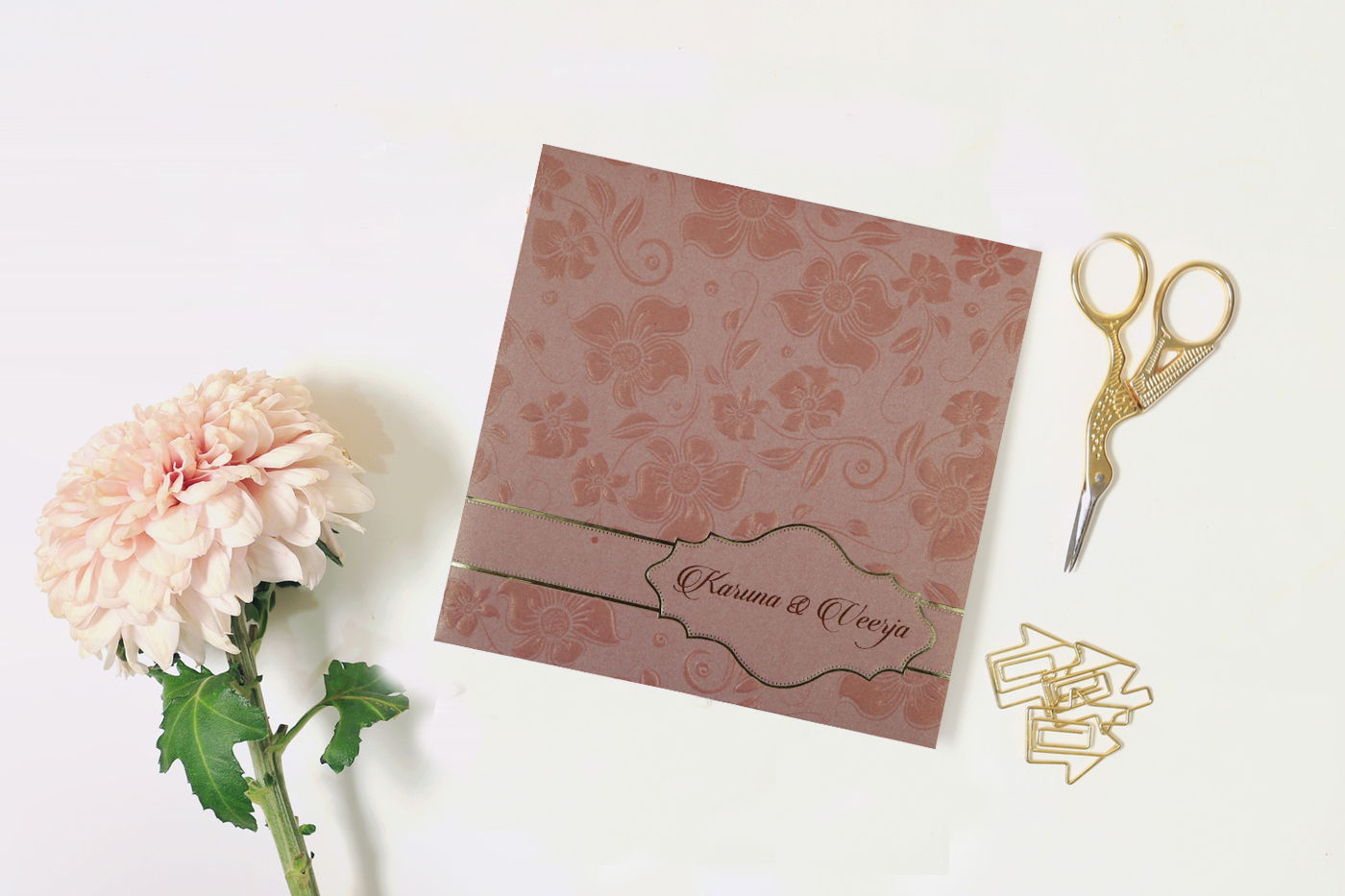 Style Your Wedding With Floral Wedding Invitation Cards - A2zweddingcards
