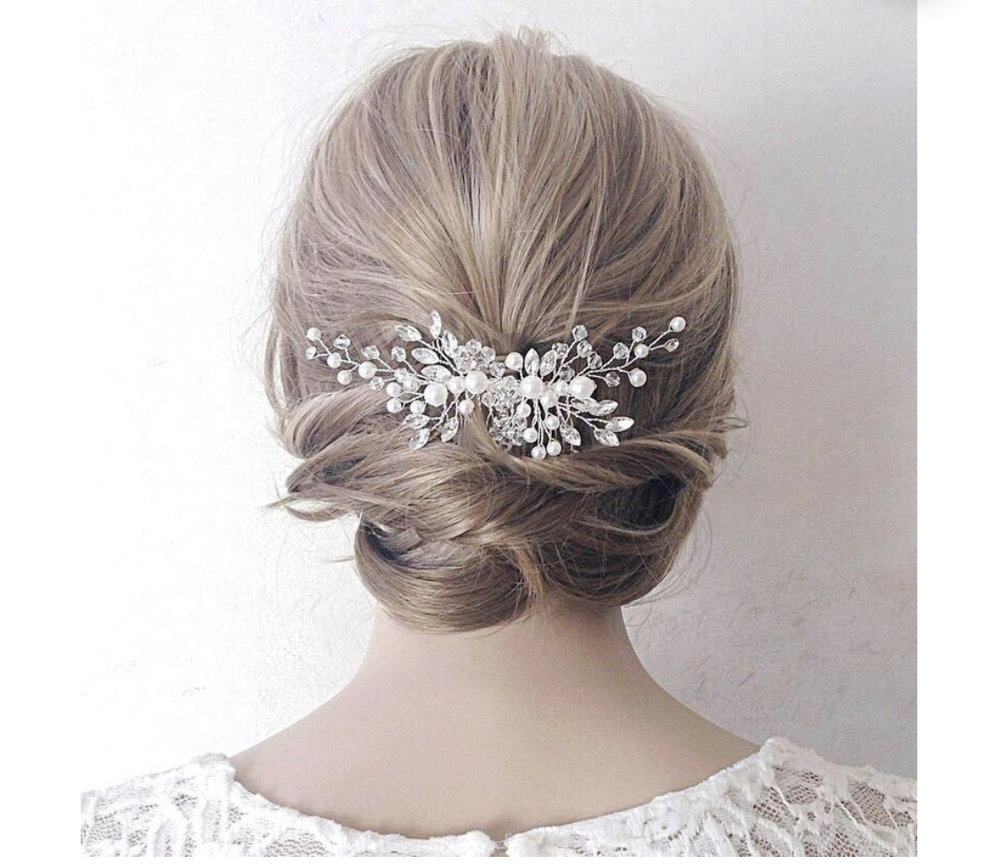Wedding Hair Piece (bridal Hair Comb)