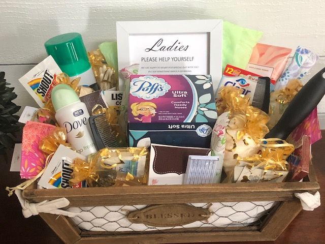 Wedding Bathroom Basket For Any Event: Fillers, Guest Room, Essentials, Hospitality, Wedding And Shower Gifts