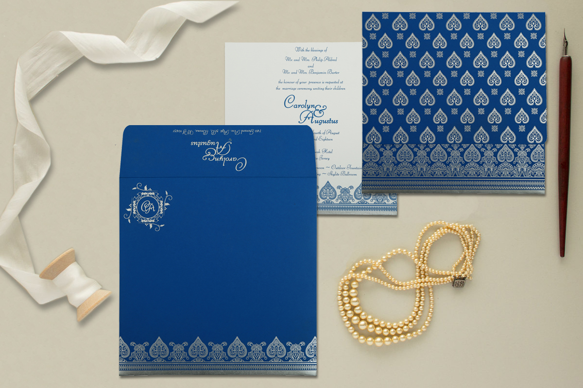 Custom Muslim Wedding Invitations At Cheap Price