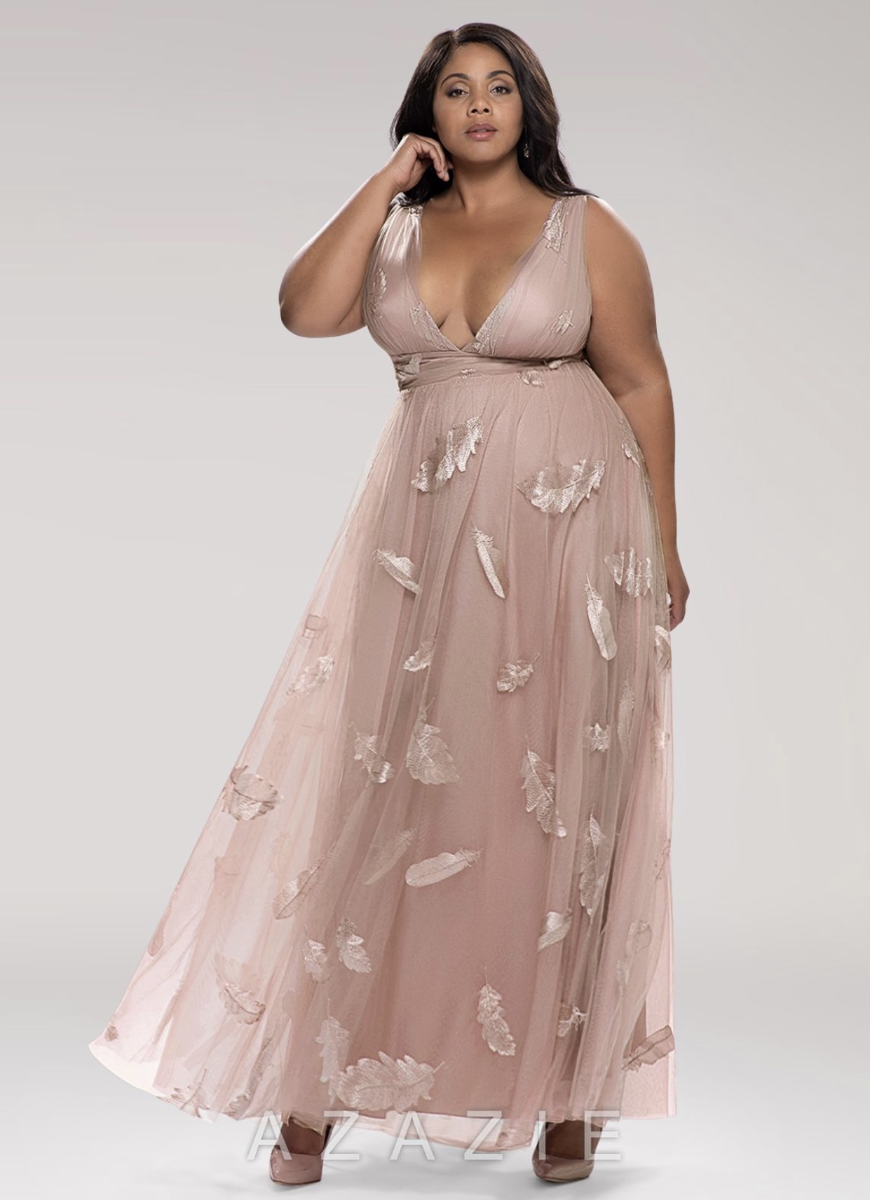 Blush Special Occasion Dress