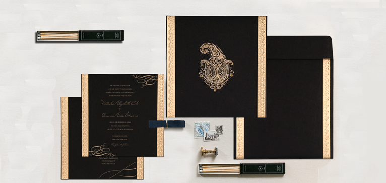 Foil Stamped Wedding Invitations That Perfectly Expresses Your Style