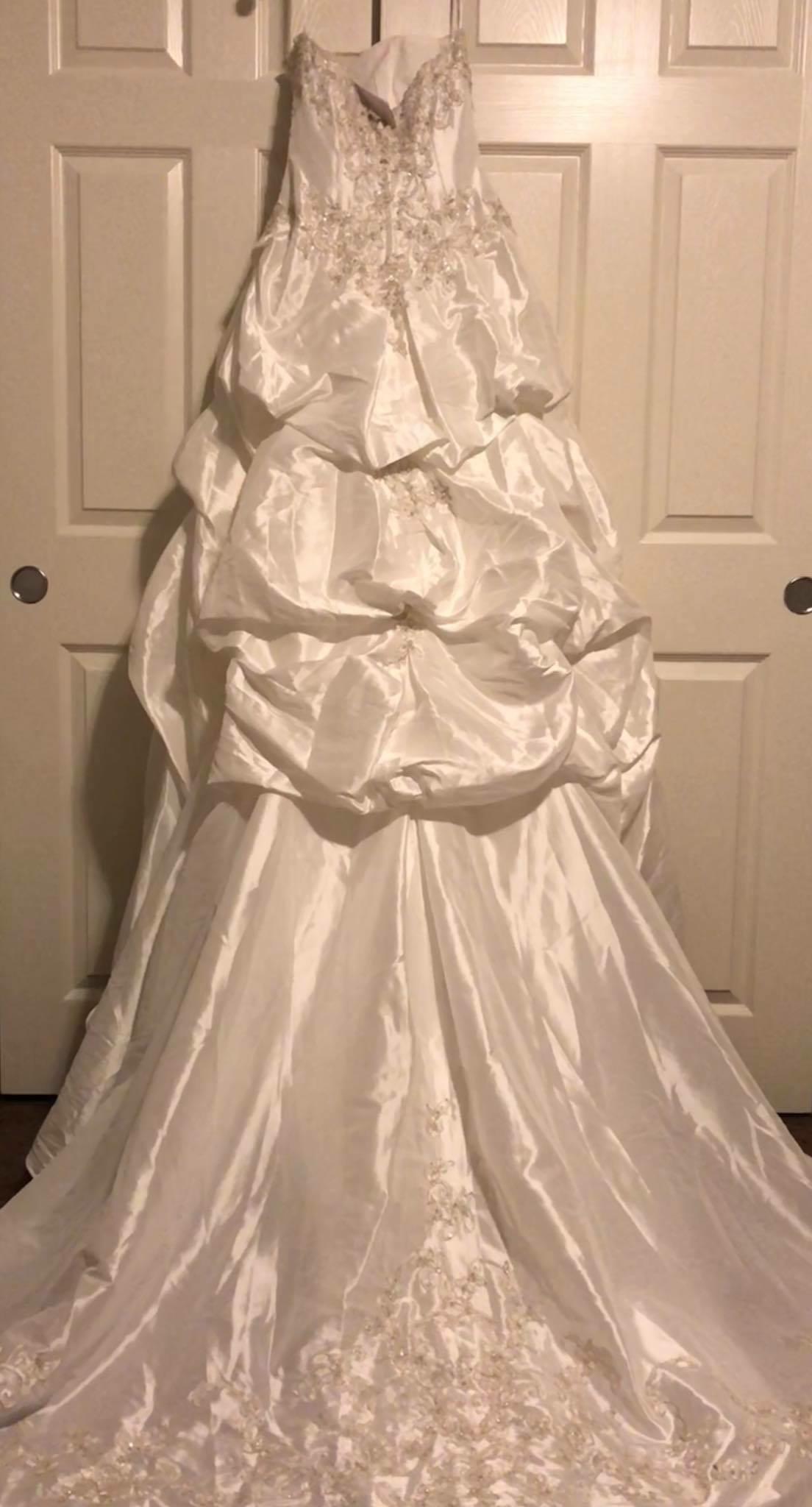 David\'s Bridal - Ball Grown Dress | Bridal Gown | BravoBride