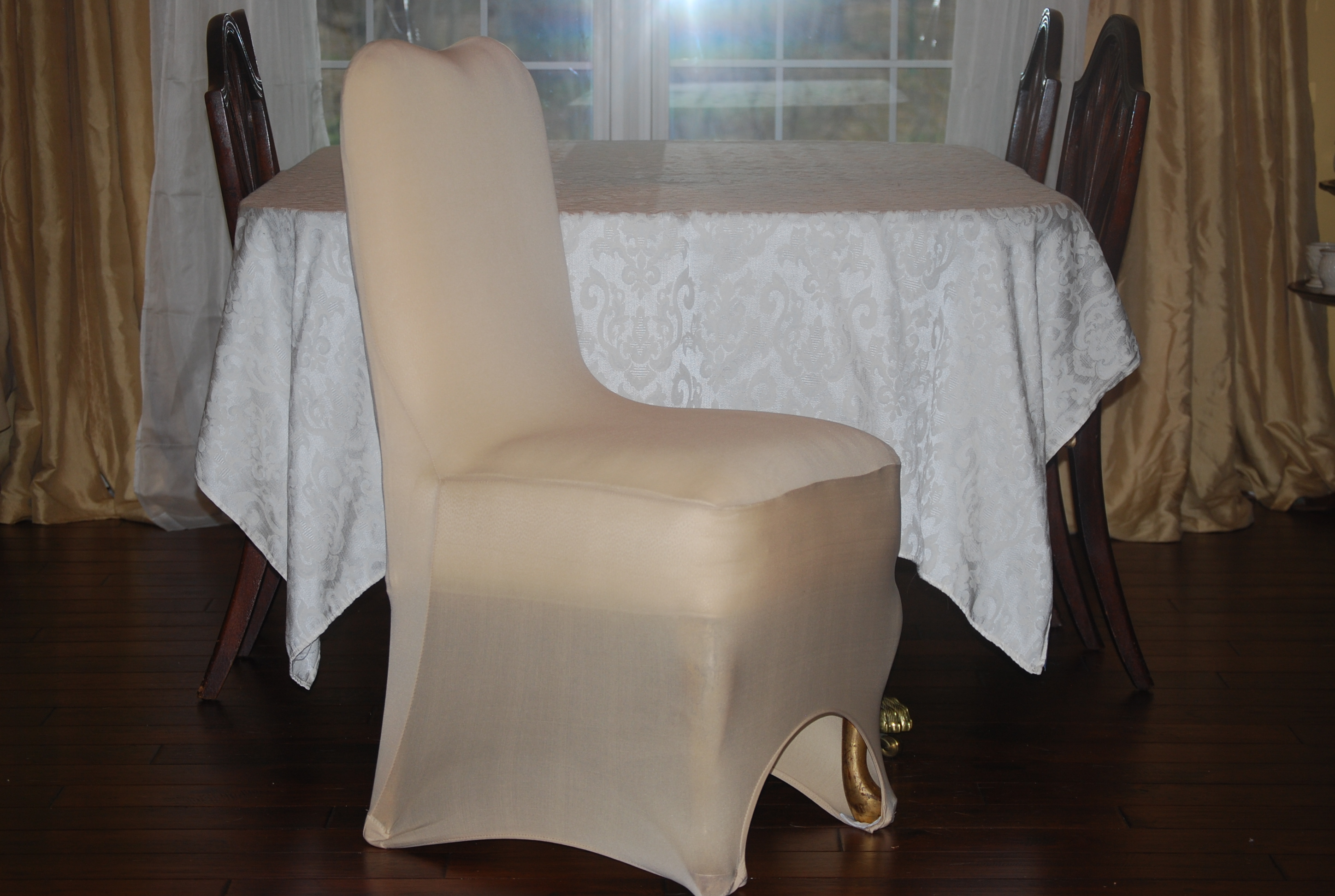 Lot Of 171 - Champagne Chair Covers