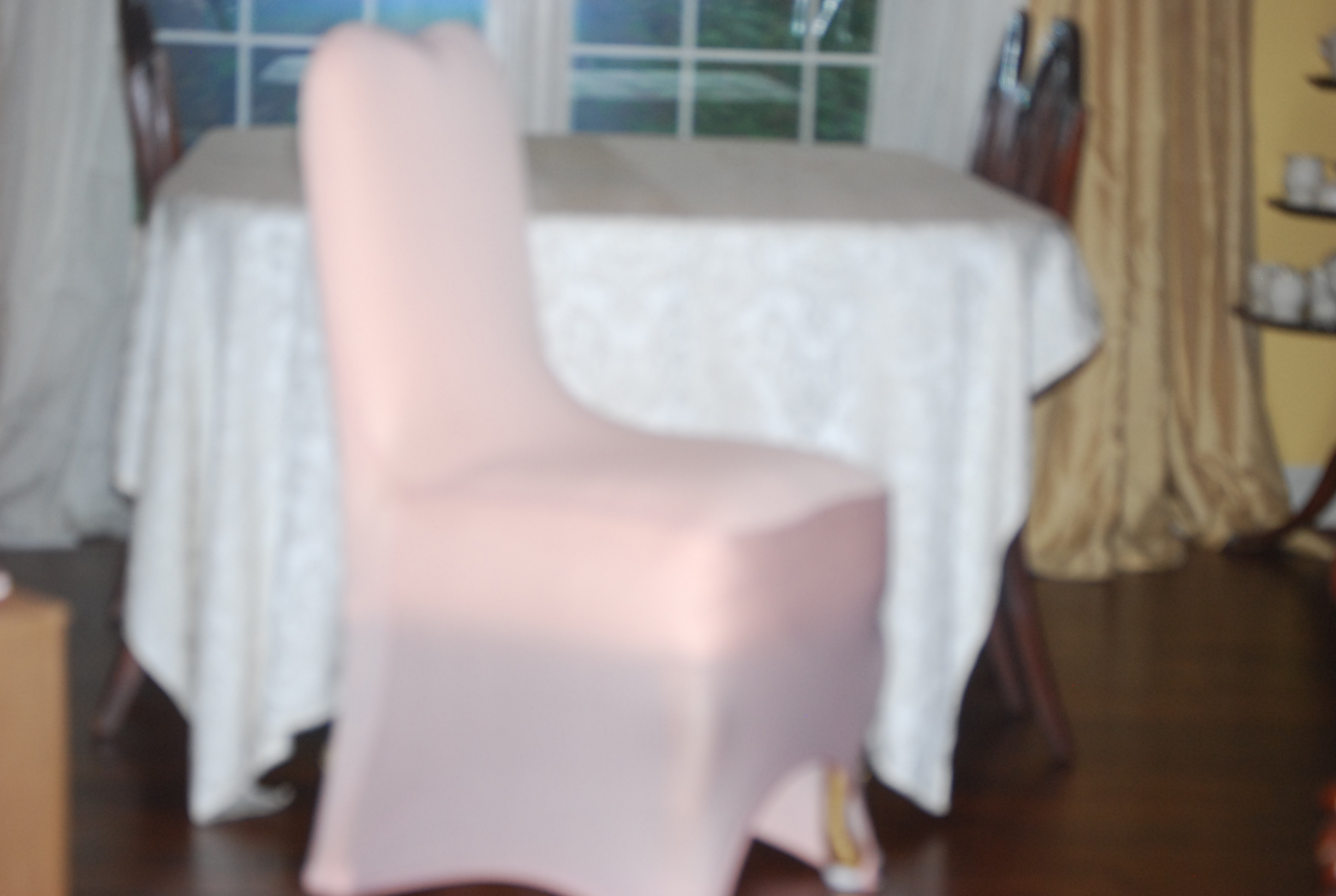 Lot Of 30 - Blush Wedding Event Banquet Hall Chair Covers - Excellent